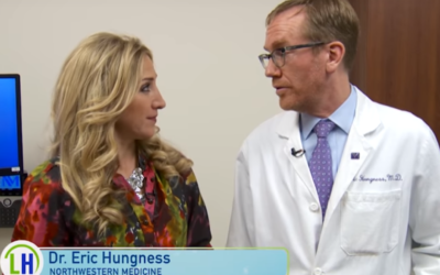WGN TV Living Healthy Chicago features DHC Surgeon Dr. Eric S. Hungness on Innovation in Achalasia Treatment