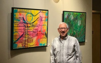 Skokie Review – Shout Out: Lee Oberlander, Local Artist