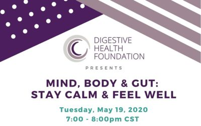 DHF Mind, Body, & Gut: Stay Calm & Feel Well Event