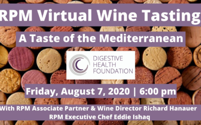 RPM Virtual Wine Tasting: A Taste of the Mediterranean to Benefit DHF