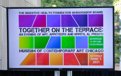 Digestive Health Foundation Raises $1.3 Million at 1ST Live Event at Museum of Contemporary Art in Over a Year